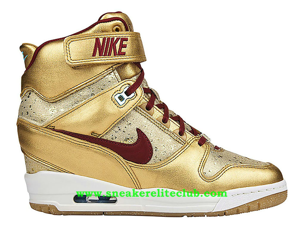 chaussure nike femme montante