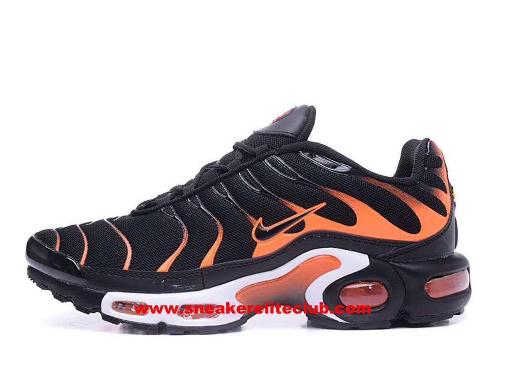 tn noir et orange nike air