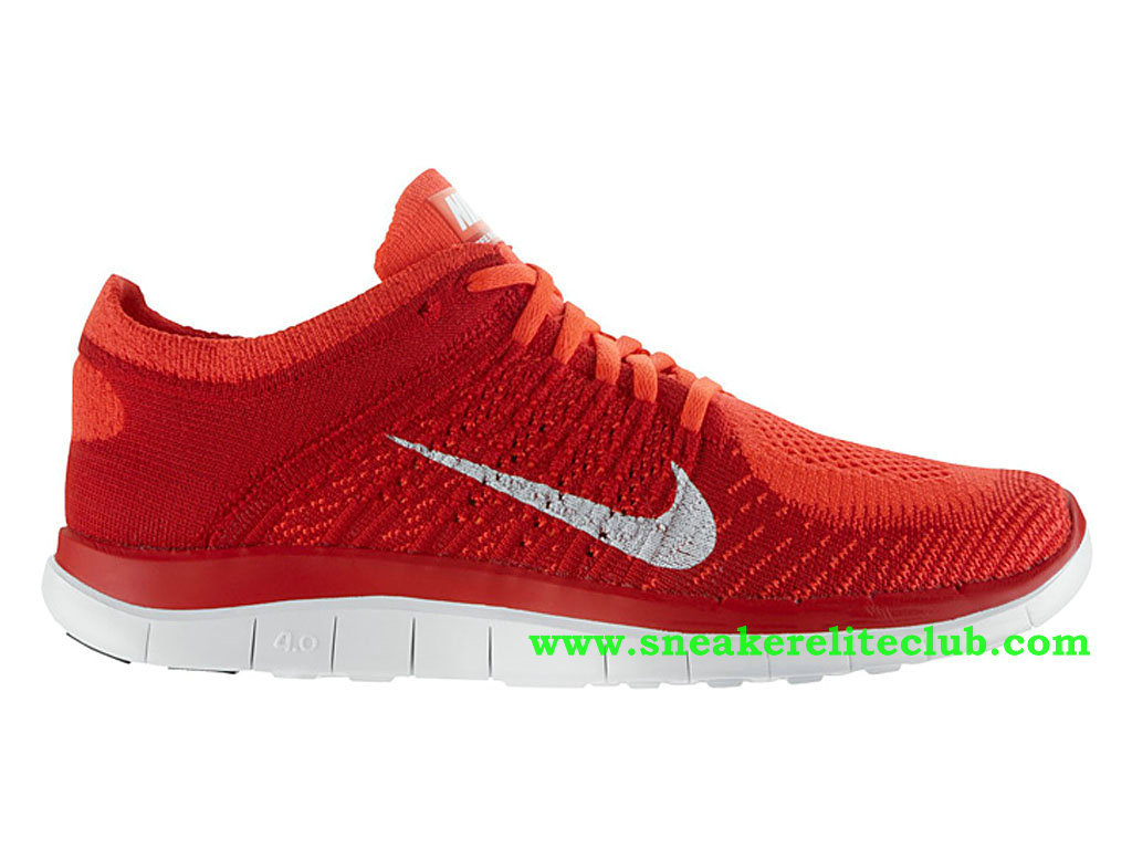 nike free 4.0 flyknit chaussures de course homme